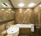 Светильники для ванной комнаты потолочные: подбор в соответствии с дизайном помещения