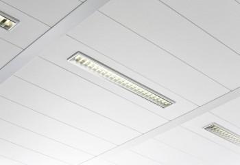 Прямоугольные металлические потолочные панели