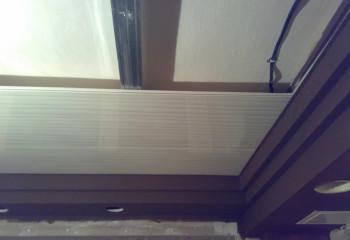 Подшивной потолок из пластиковых панелей