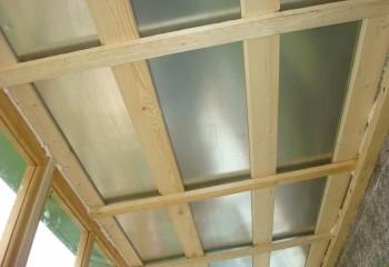 Деревянный каркас для монтажа длинномерных панелей