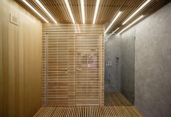 Реечные потолки с подсветкой