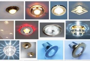 Врезные потолочные осветительные приборы весьма разнообразны