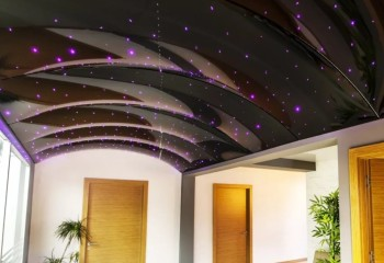 Объемная конструкция с эффектом звездного неба