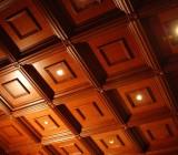 Виды кессонных потолков, дизайнерские идеи