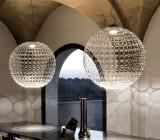 Потолочные круглые люстры в комнатах с низким потолком