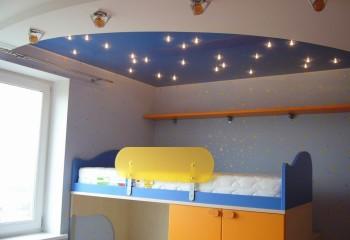 Освещение спальной зоны в детской