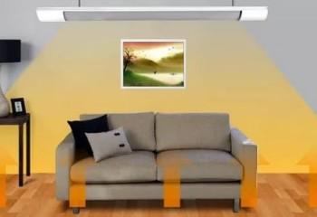 Принцип действия потолочного нагревательного прибора