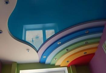 Настоящая радуга в детской комнате