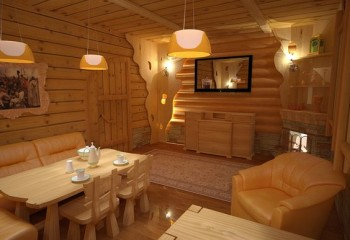 Великолепный интерьер комнаты отдыха