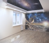 Красивые 3D обои на потолок – уникальный дизайн ваших комнат