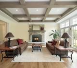 Идеи оформления балочного потолка – как выбрать подходящий вариант