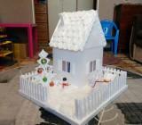 Поделки из потолочной плитки – домашнее творчество из легкого отделочного материала