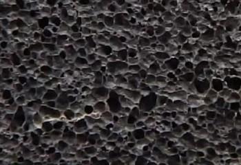 Пористая структура пеностекла