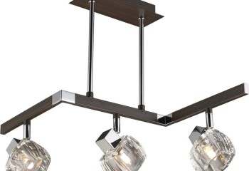 Современный вариант подвесного направляемого светильника в стиле хай-тек