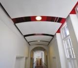 Как самому сделать потолок из ПВХ панелей: школа ремонта