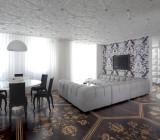 Производство потолочной плитки: материал для облицовки базовой и подвесной поверхности