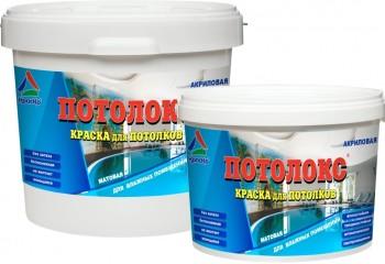 Акриловая краска для потолков – лучшее соотношение цены и качества