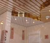 Зеркальный реечный потолок – особенности материала и его установка