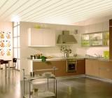 Пластиковый потолок на кухне – работа с материалом и детали монтажа