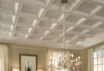 Молдинги и потолочные розетки из полиуретана в дизайне помещения