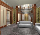 Потолок в комнате: как создать гармоничный интерьер