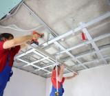Монтаж многоуровневых потолков из гипсокартона – конструкции, доступные для всех