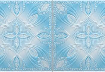 3Д колор голубой
