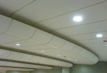 Акустические потолки: какими они бывают и как «работают»