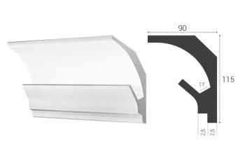 Вариант плинтуса, используемого для устройства подсветки