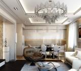 Гипсокартонные подвесные потолки в гостиной: конструкция, расчет, монтаж