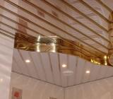 Монтаж реечного потолка — как справиться с работой своими силами