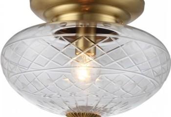 Потолочный светильник с лампой накаливания