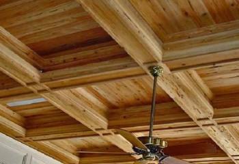 Браширование элементов потолочной конструкции