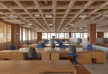 Дизайн помещения с пустотелым монолитным перекрытием