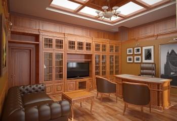 Современный вариант деревянных кессонов: верхние панели – это матовое стекло, за которым установлена скрытая подсветка