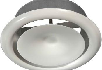 Приточные диффузоры потолочные круглые