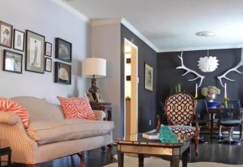 Потолочное обрамление в цвет потолка