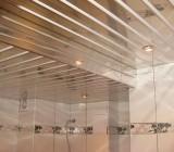 Устройство подвесного реечного потолка и его особенности