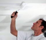 Как правильно валиком красить потолок – все нюансы технологии
