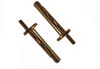 Анкеры-клинья применяются для монтажа подвесов и профилей на поверхность перекрытия