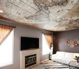 Дизайн потолка в зале: интересные идеи для будущего ремонта