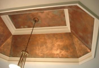 Медный потолок