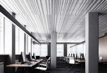 Современное оформление офисного помещения