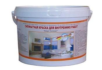 Силикатная краска для нанесения на потолок