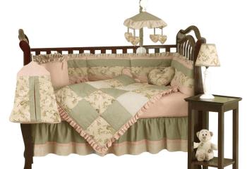 Кроватка чудесно вольется в стилистику «кантри»