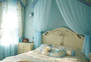 Профильные модели в интерьере спальни