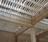 Деревянные потолочные перекрытия: как определить несущую способность