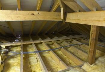 Утепление конструкции уменьшит затраты на обогрев бани