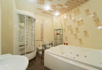 Такая ванная не боится влажности