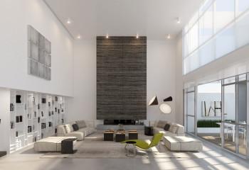В таком помещении с легкостью разместятся два полноценных этажа